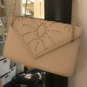 Handbags - CLUTCH WITH GOLD CHAIN FOR CROSS-BODY
